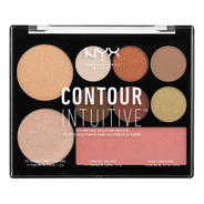 NYX Professional Makeup Contour Intuitive Palette - Warm Zone