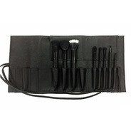 Professional Vegan Brush Roll (With 8 brushes)