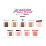In theBalm of Your Hand® Greatest Hits Volume 2 Palette