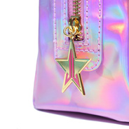 Jeffree Star Cosmetics - Holographic Pink Makeup Bag
