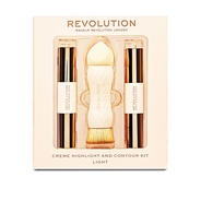 Revolution Crème Highlight and Contour Kit - Light