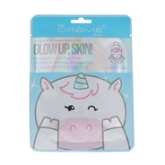 Glow up, Skin! Unicorn Face Mask - Infused with Shimmery Rainbow Pearl