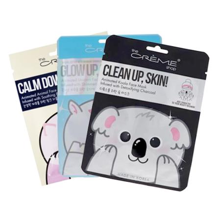 The Crème Shop Sheet Mask Bundle