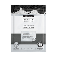 Beauty Infusion Sheet Masks - Charcoal - Cleansing