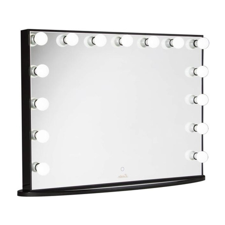Makeup Mirror.Lumiere By Glamour Makeup Mirrors Glamster Makeup Mirror Black