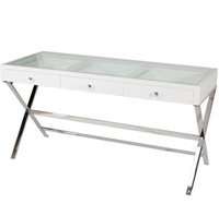 Vanity Makeup Table - White