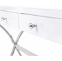 Lumiere by Glamour Makeup Mirrors Vanity Makeup Table - White