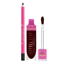 Velour Liquid Lipstick + Lip Liner Bundle - Weirdo