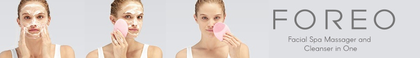 Foreo NZ facial cleaning brushes