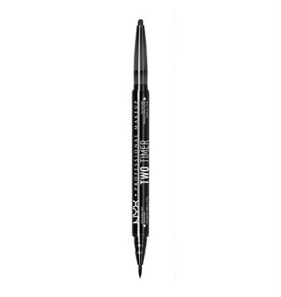 NYX Professional Makeup Two Timer Dual Eyeliner - Black