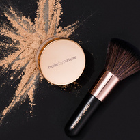 Power Couple - Natural Mineral Cover Foundation & Brush Duo