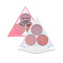 Crystal Cavern Mega Glo Eyeshadow Trio - Rose Quartz