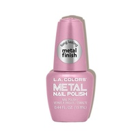 Metal Nail Polish - Crystal Pink