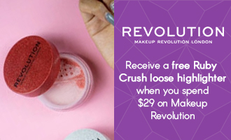 Free gift when you spend $29 on Revolution