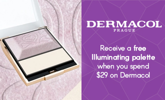 Free gift when you spend $29 on Dermacol