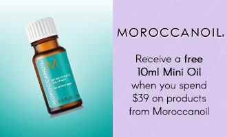 Free gift when you spend $39 on Moroccanoil