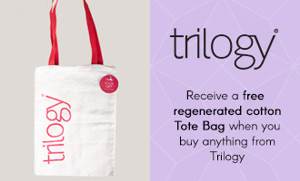 Free tote when you buy any Trilogy product