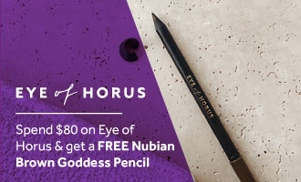 Free gift when you spend $80 on Eye of Horus