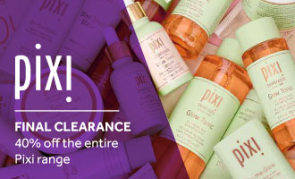 CLEARANCE: 40% off all Pixi