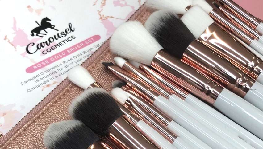 Ultimate Guide: Carousel Rose Gold Brush Set